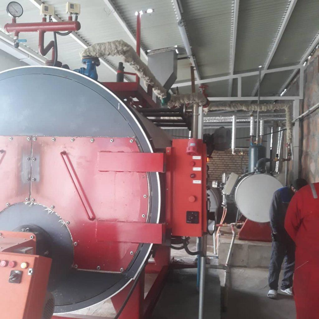عایق کاری با عایق های NBR و عایق EPDM برای خطوط سرمایش و بخار کارخانه