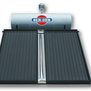 آبگرمکن خورشیدی تحت فشار ظرفیت ۱۸۰ لیتر مخصوص ۵ نفر