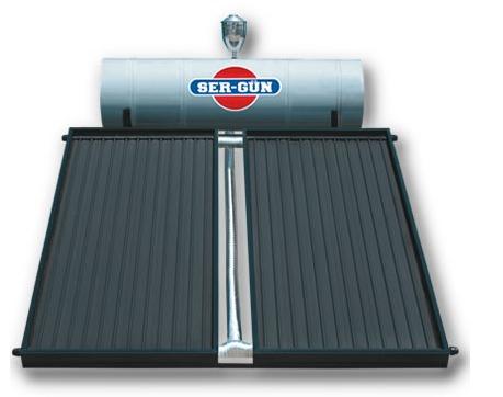 بگرمکن خورشیدی تحت فشار ظرفیت ۱۸۰ لیتر مخصوص ۵ نفر
