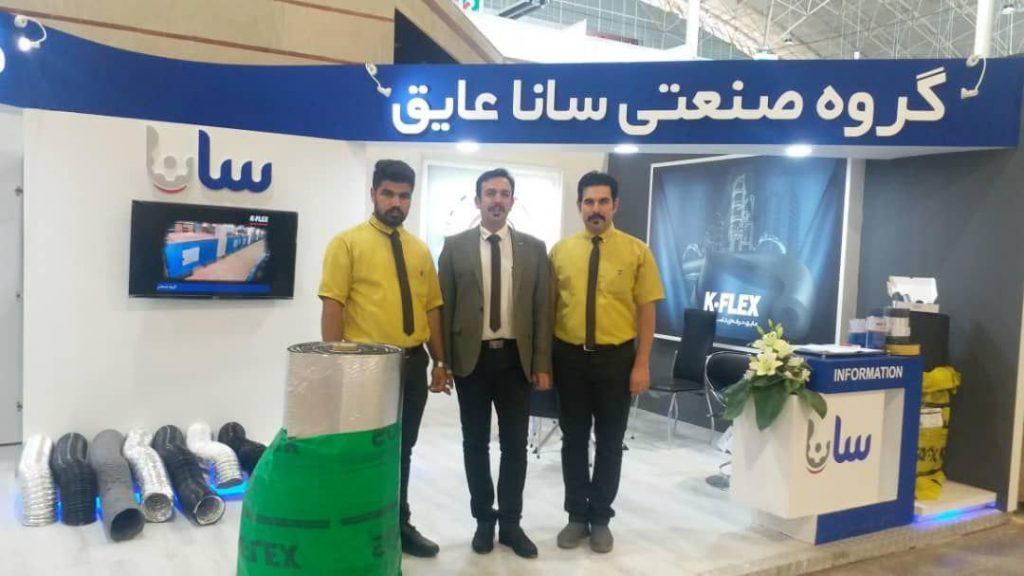حضور شرکت ترکان تجهیز تاسیسات در 23اُمین نمایشگاه بینالمللی حرارتی و برودتی تبریز