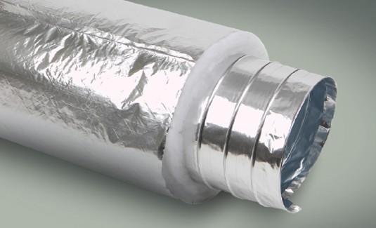 لوله فلکسیبل پلی استر ساده با روکش آلومینیوم