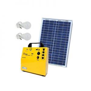 پکیج خورشیدی ۱۰ وات، مناسب روشنایی و شارژ موبایل
