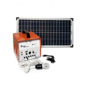پکیج خورشیدی 30 وات، مناسب روشنایی و شارژ موبایل