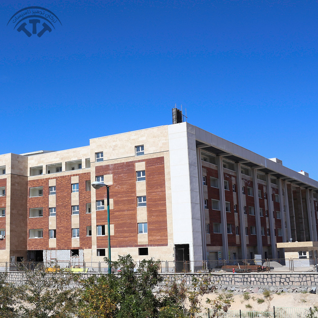 پروژه انجام شده توسط شرکت ترکان تجهیز