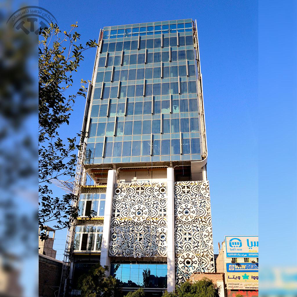 ساختمان اداری آذر پروشات کار