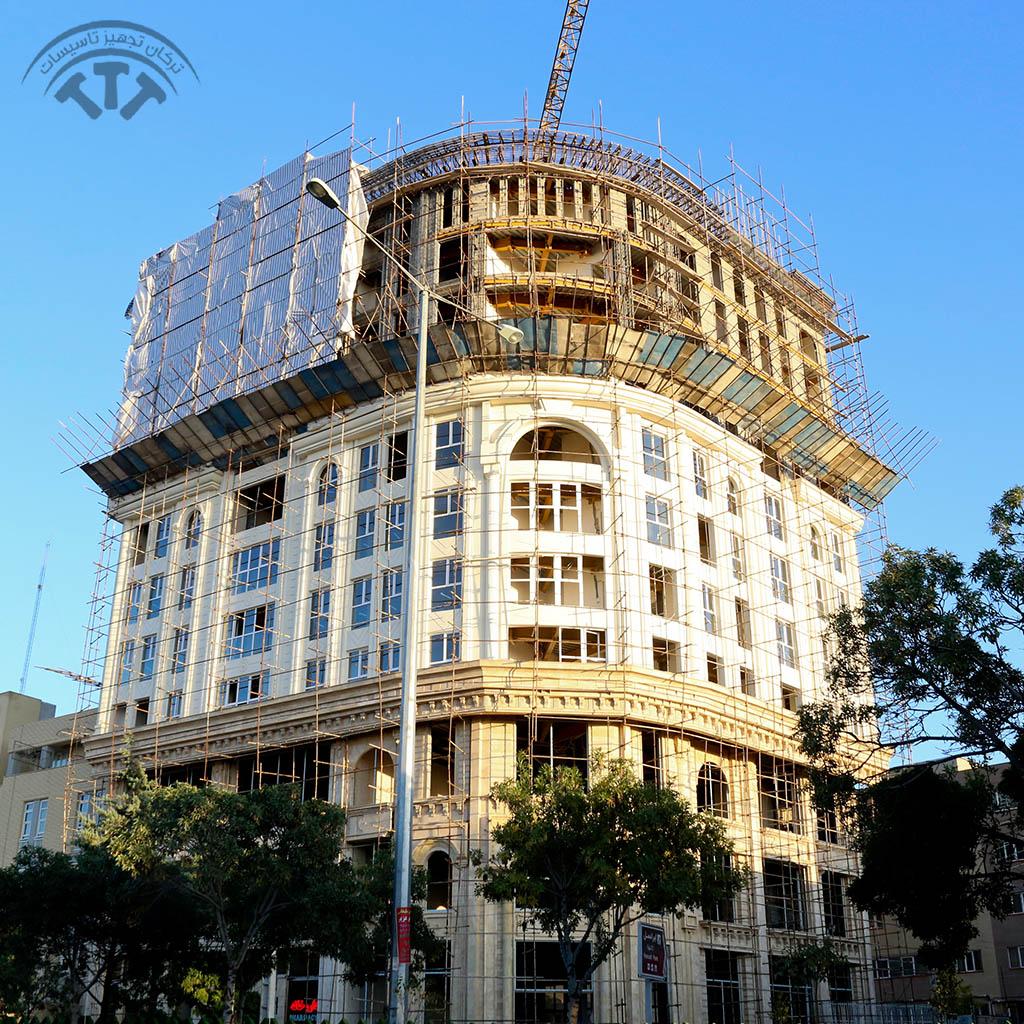 برج تجاری اداری ساران